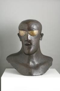 Elisabeth Frink (1930 - 1993) Goggle Head, 1969