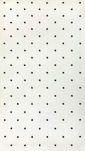 Bridget Riley  B.1931 SCALE STUDY FOR STATIC, DIAMOND GRID, 1966 gouache on paper 101.5 by 57.5cm.; 40 by 22½in