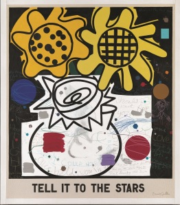 'Tell it to the stars' by David Spiller 2009 122x106cm. Portland Gallery