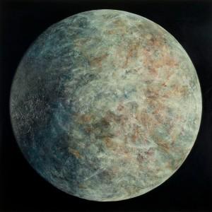 Artemis, oil on canvas, 240 x 240 cm