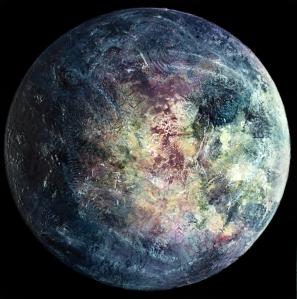 Ganymede, oil on canvas, 60 x 60 cm