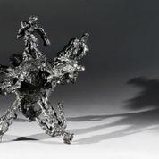 David Breuer-Weil, Globe, 2013, bronze, h 30 cm (courtesy of Sam Roberts and the artist).