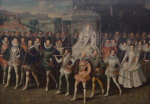 The Procession Portrait of Queen Elizabeth, Unknown Anglo-Netherlandish artist, c.1600-03  ©Sherborne Castle, Dorset