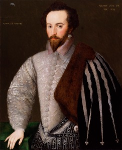 Sir Walter Ralegh Unknown English artist, 1588 (c) National Portrait Gallery, London