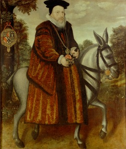 William Cecil, 1st Baron Burghley (1520/21–1598) by an unknown artist  © The Bodleian Libraries, University of Oxford