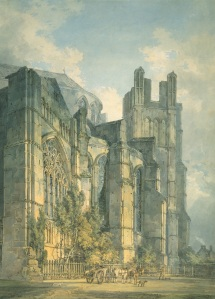1794 St. Anselm's Chapel, Canterbury Cathedral, with Part of Thomas-a-Becket's Crown