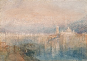 1840 (ca.) Venice, San Giorgio Maggiore from the Entrance to the Grand Canal