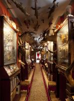 : Garcia's cabinet of curiosities is likely influenced—at least in part—by a childhood spent roaming the Bourbon countryside with his grandfather Joseph, chasing butterflies and other insects, and collecting flowers and leaves. Garcia's profound love of nature stems from his country upbringing; this spirit runs through the rooms, galleries, and staircases at Champ de Bataille.