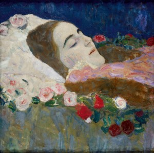 Ria Munk on her Deathbed Gustav Klimt 1912 Private Collection Courtesy Richard Nagy Ltd., London