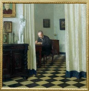 Self Portrait in his Study Carl Moll 1906 Gemäldegalerie der Akademie der bildenden Künste, Vienna