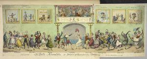 George Cruikshank. La belle assemblee. London, 1817. Image © British Library Board