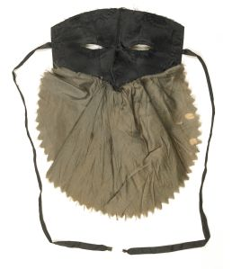 Masquerade mask. 1780s © Museum of London
