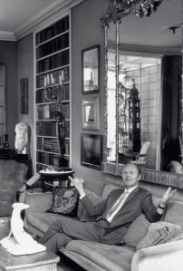 Michael Inchbald at home, Stanley House