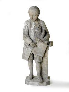 Statue. Boy from Farringdon Ward School. 1705-1800 © Museum of London