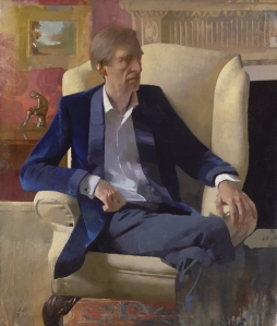 Diarmuid Kelley Study For a Portrait, 2012 oil on canvas