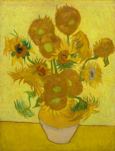 L1162 Vincent van Gogh (1853 - 1890)  Sunflowers, 1889-01 Arles Oil on canvas 95 x 73 cm Van Gogh Museum, Amsterdam (Vincent van Gogh Foundation) s31V/1962  F458  © Van Gogh Museum, Amsterdam (Vincent van Gogh Foundation)