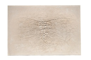 Lot 5  Alberto Burri (1915-1995) Cretti: H, Cretti: H etching and aquatint with embossing Fabriano card signed in pencil, inscribed buono di stampa edition size: 90 numbered impressions and 25 artist's proofs published and printed by 2RC Edizioni d'Arte, Rome, with their blindstamp Sheet: 659 x 950 mm. Estimate: 8,000 - 12,000 British pounds