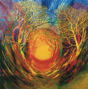 Stanley Donwood Nether 2013 Image size 50 x 50 cm Paper size 60 x 63 cm Giclée print on Hahnemühle Photo Rag 308gsm paper Signed and editioned by the artist Edition of 100 Courtesy of TAG Fine Arts
