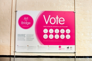 Tower Bridge_Art at the Bridge #5 Exhibition_2014