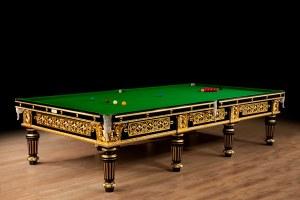 Billiard Table made for the 1st Baron Blyth, circa 1895