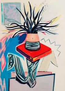 Hannah Bays, 'Jiggery-Pokery', oil on canvas, 200x140cm Image courtesy the artist