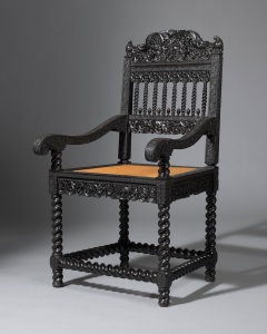 Harris Lindsay Ebony armchair