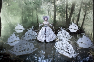 Kirsty Mitchell The Queen's Armada Achival pigment photographic print, 67 x 100cm, Edition of 7 £2,500 Mark Jason Gallery