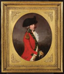 NICHOLAS BAGSHAWE - Portrait of General Sir Thomas Bowser 1749-1833 by Thomas Hickey @ChelseaAntiquesFair-1