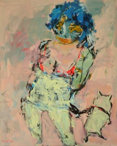 Artist: Tarek Butayhi Title: Women & Dog