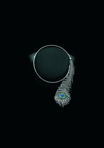Sandra Cronan Feather Necklace