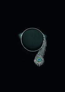 Sandra Cronan Feather Necklace