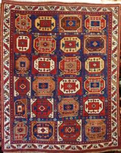 Seneh Rugs Antique Persian Afshar 1.56m x 1.30m  Circa. 1880, South Iran