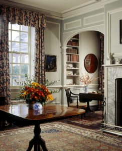 A view of the Oriental Room which takes its name from the Chinese Porcelain displayed there at Fenton House London Copyright National Trust Images Nadia Mackenzie.