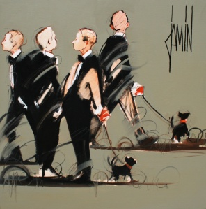 "Art World ""Promenade sur l'avenue 2010"", Jamin"