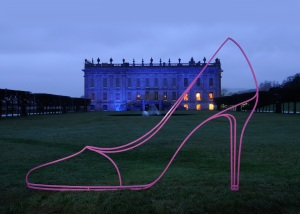 MICHAEL CRAIG-MARTIN High Heel (pink), 2013 © Michael Craig-Martin. Photo: Matthew Bullen