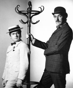Dudley Moore & Peter Cook, photographed by British director Bryan Forbes -® Bryan Forbes