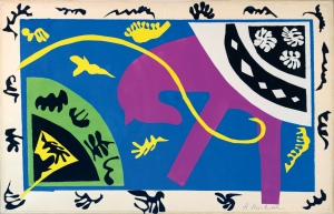 The Horse, the Rider and the Clown 1943-4 Maquette for plate V of the illustrated book Jazz 1947 Digital image: © Centre Pompidou, MNAM-CCI, Dist. RMN-Grand Palais / Jean-Claude Planchet Artwork: © Succession Henri Matisse/DACS 2014
