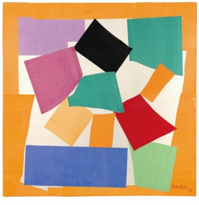 Henri Matisse (1869 -1964) The Snail 1953 Gouache on paper, cut and pasted on paper mounted to canvas Tate Digital image: © Tate Photography Artwork: © Succession Henri Matisse/DACS 2014