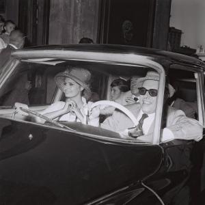 Marcello Geppetti (1933-1998) Carlo Ponti, Sophia Loren and Vittorio De Sica, Rome, 1961 MGMC & Solares Fondazione delle Arti