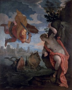 Paolo Veronese (1528-1588) Perseus and Andromeda, 1575-80 Oil on canvas 260 × 211 cm Musée des Beaux - Arts, Rennes (1801-1-1) © MBA, Rennes, Dist. RMN/Adélaïde Beaudoin