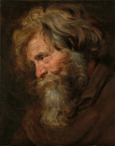 Sir Peter Paul Rubens (1577-1640) Study (tronie) of an Old Man, c. 1615-1618 Oil on panel, 48 x 37.5 cm The Weiss Gallery