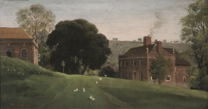 Ashcombe House, by Rex Whistler, 1930s, Ashcombe © Private Collection