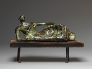 Browse and Darby Gallery HENRY MOORE (1898-1986) Reclining Figure No.3, 1952 Conceived in 1952 and cast in an edition of 9 bronze width: 8 inches   Provenance Private Collection, Devon, England A gift from the above, circa 1958, to a Private Collection, USA