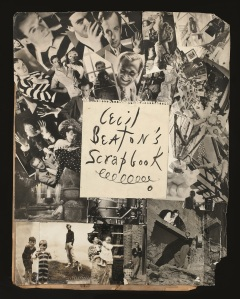 Frontispiece montage for Cecil Beaton's Scrapbook, 1937, Ashcombe © Private Collection