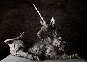"ANDREW LACEY Guardian Ed 1/9 Bronze H 33"" x W x 52"" x 22"" x D 22"""
