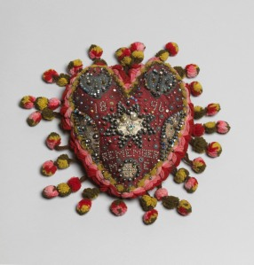 Unknown Heart pincushion Beamish Museum (Durham, UK) Photo: Tate Photography