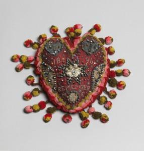 Unknown Heart pincushion Beamish Museum (Durham, UK) Photo: Tate Photography