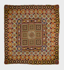 Unknown Crimean Quilt Image courtesy of Tunbridge Wells Museum and Art Gallery ©