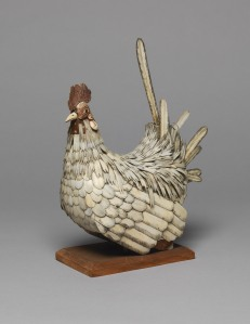 Unknown Bone cockerel (life size) 230 x 120 x 230 mm Vivacity Culture and Leisure – Peterborough Museum ©