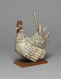 Unknown Bone cockerel (life size) 230 x 120 x 230 mm Vivacity Culture and Leisure – Peterborough Museum ©